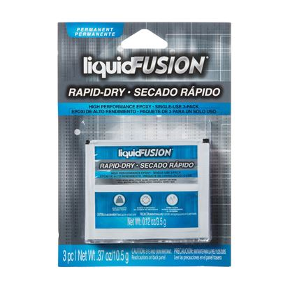 Liquid Fusion® Rapid Dry Epoxy 3 Pack