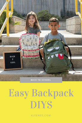 Picture of No-Sew Backpack Makeovers