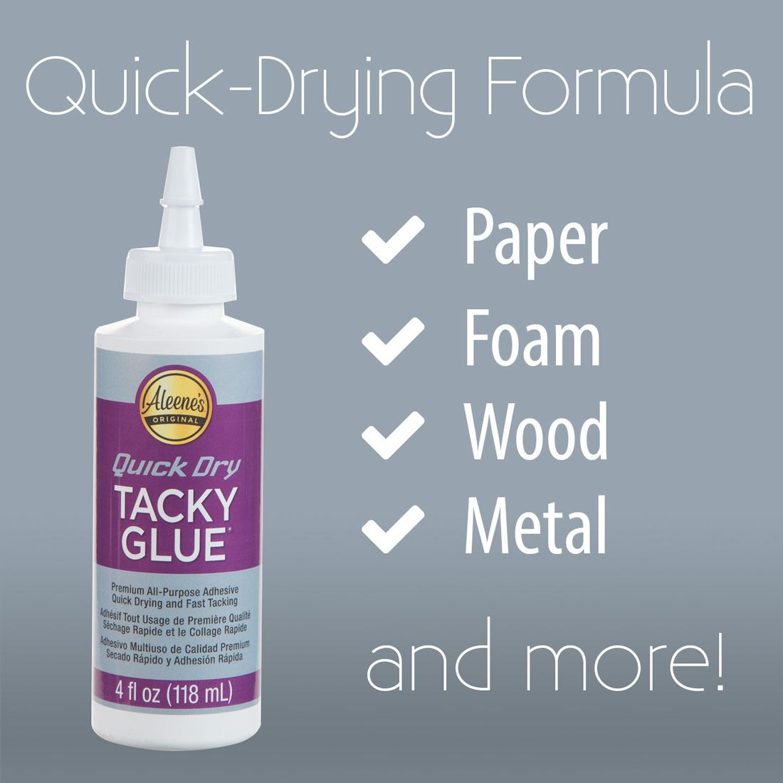 Picture of Aleene's Quick Dry Tacky Glue 4 oz. 3 Pack