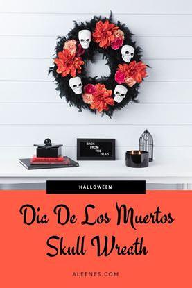 Picture of Dia De Los Muertos Wreath