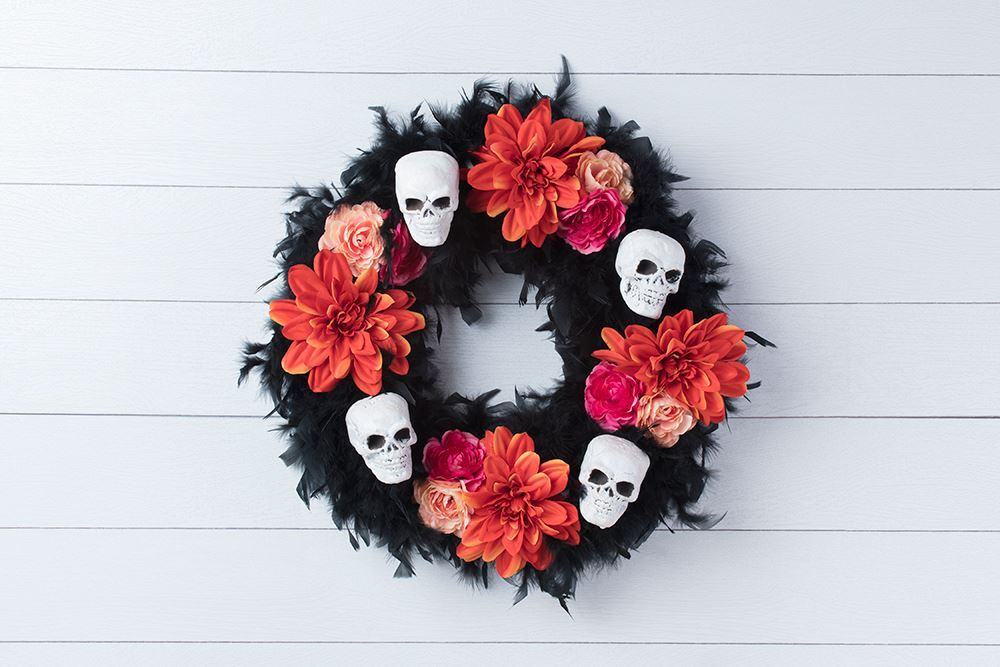 Picture of Dia De Los Muertos Wreath