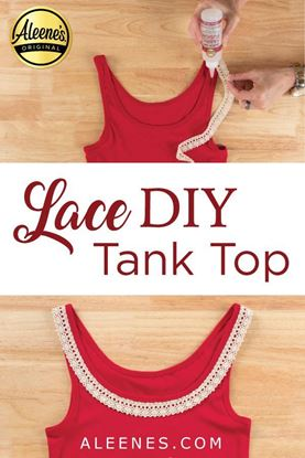 Picture of How To Glue Lace to Clothing