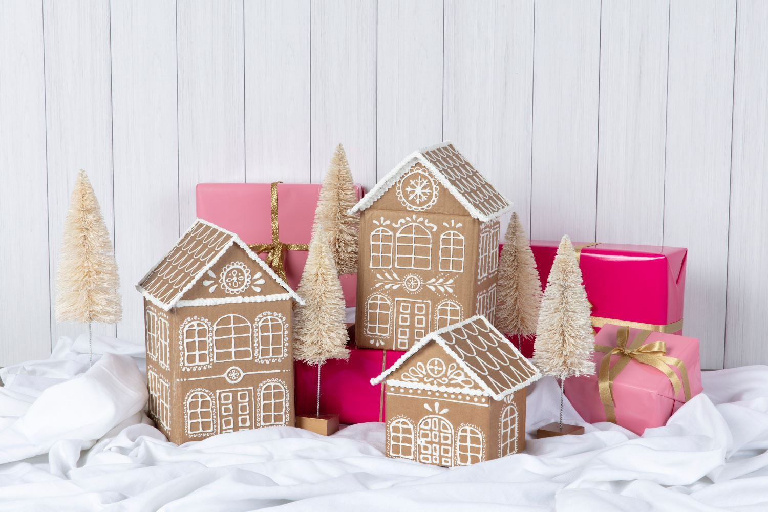 Picture of No-Bake Gingerbread Houses