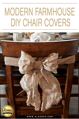 Picture of Modern Farmhouse DIY Chair Covers