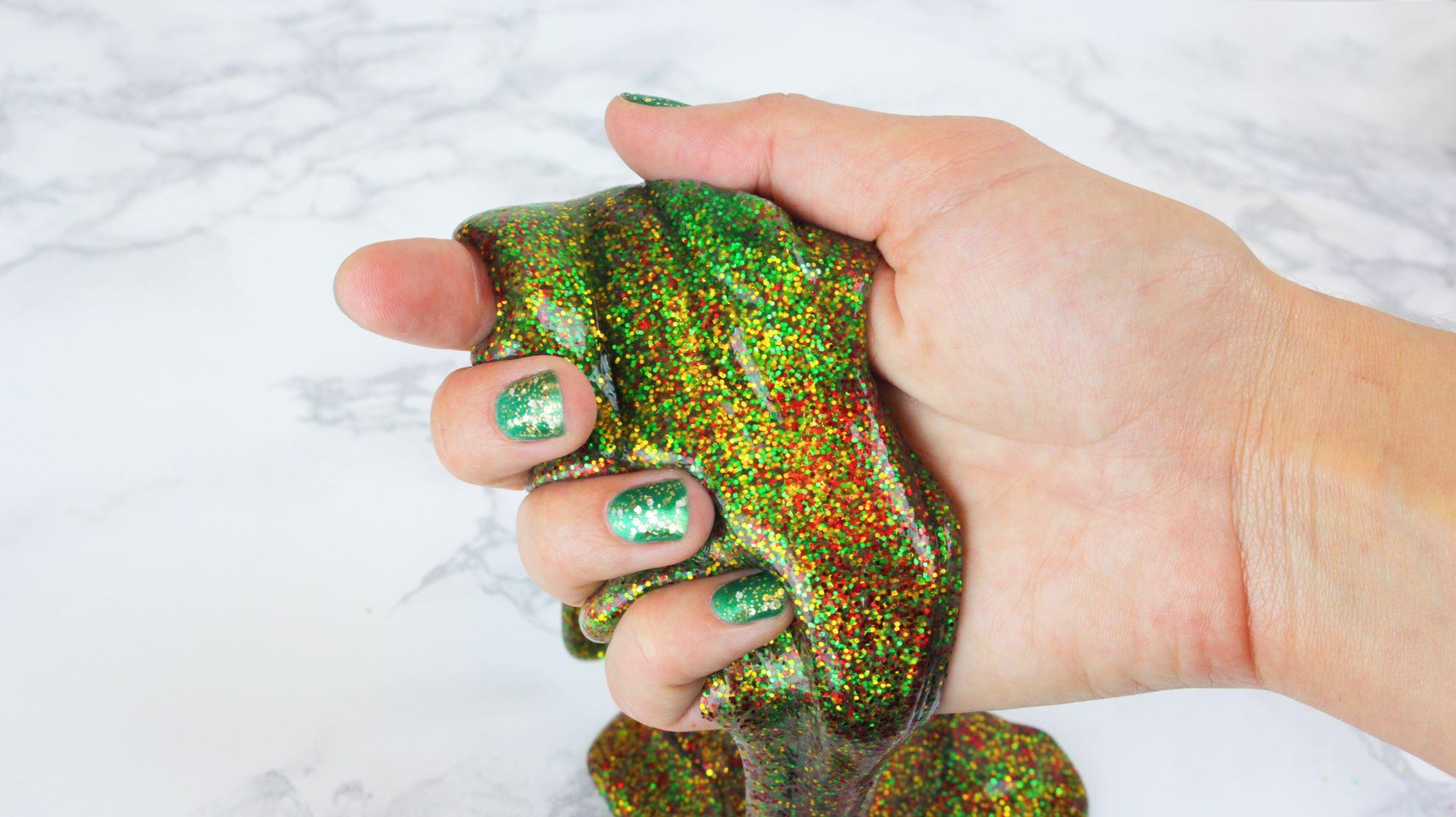 Aleene's Christmas Glitter Slime