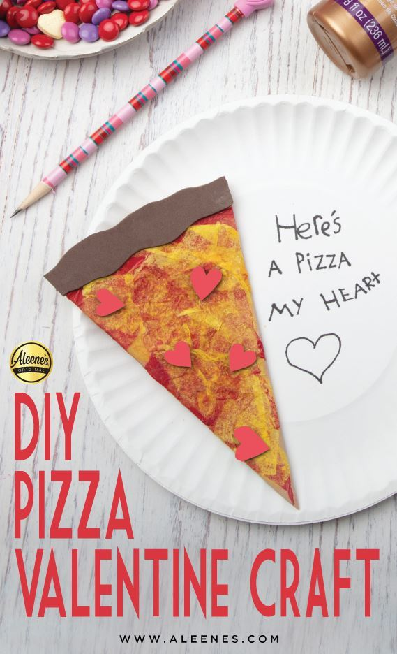 Picture of Aleene's Pizza Valentine Craft