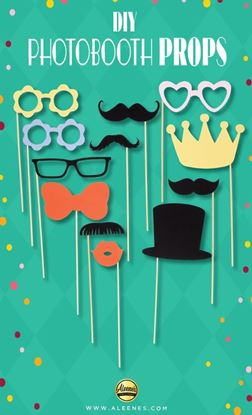 Picture of DIY Photobooth Props