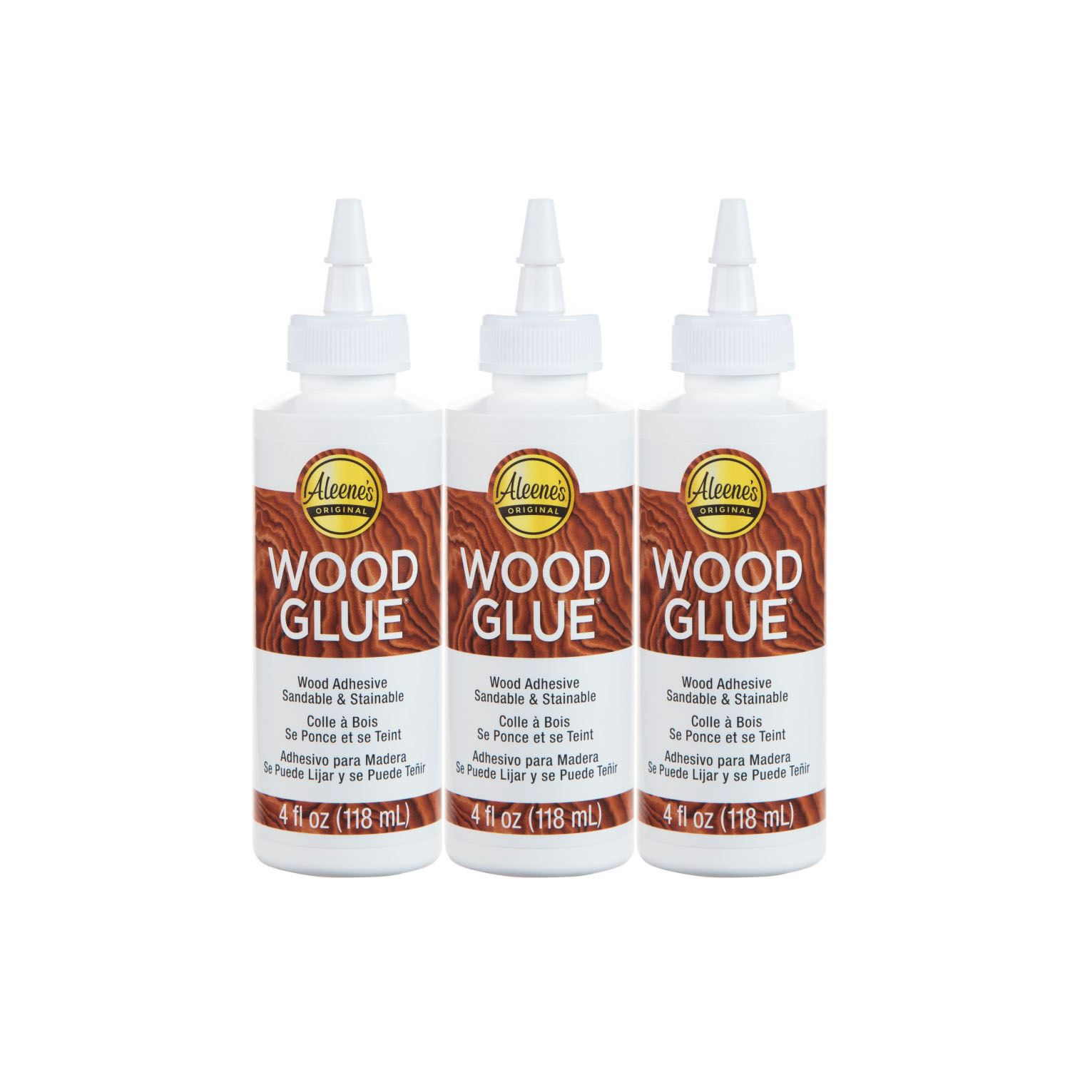 Picture of Aleene's 4 Oz Wood Glue 3 Pack
