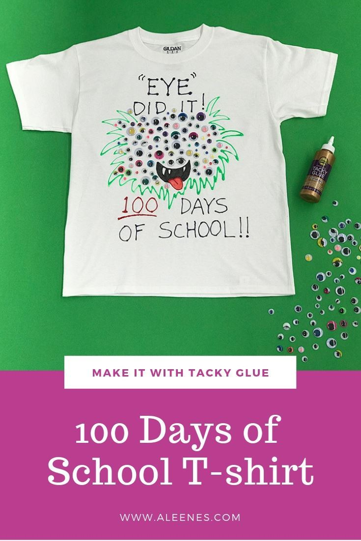 Picture of Aleene's 100 Days of School Monster T-shirt