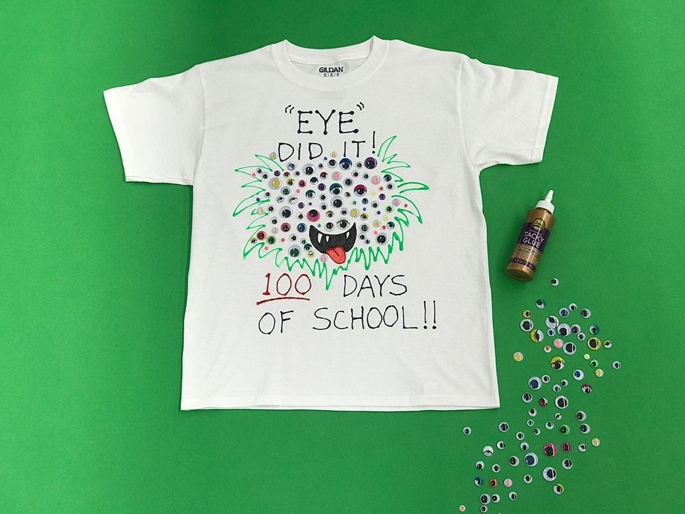 Aleene's 100 Days of School T-shirt