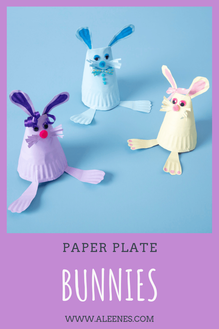Picture of Aleene's Paper Plate Bunnies