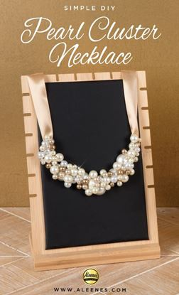 Picture of DIY Pearl Cluster Necklace