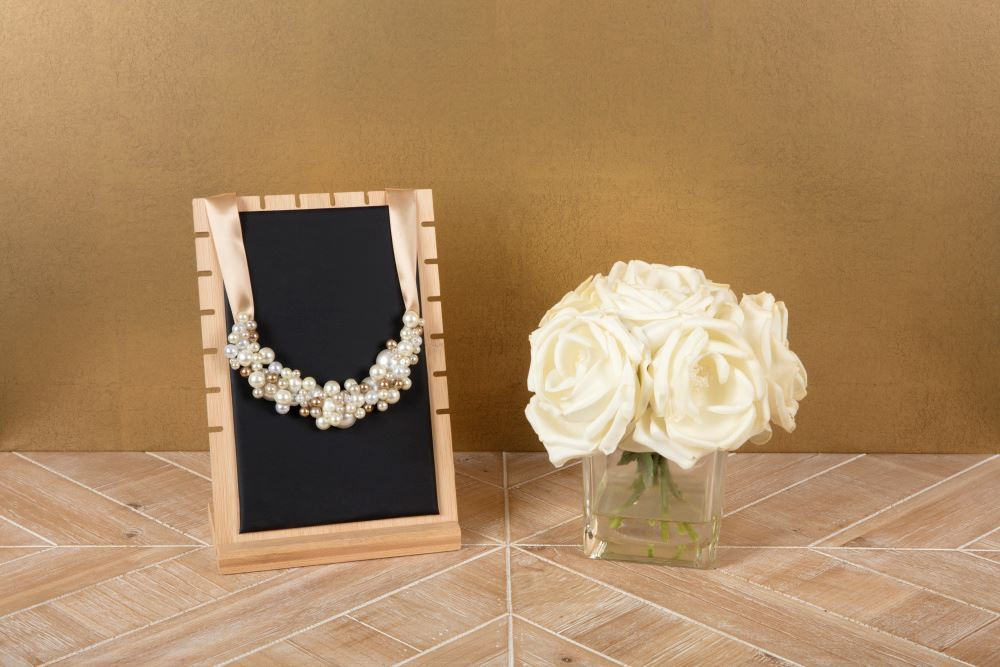 Aleene's Pearl Cluster Necklace DIY