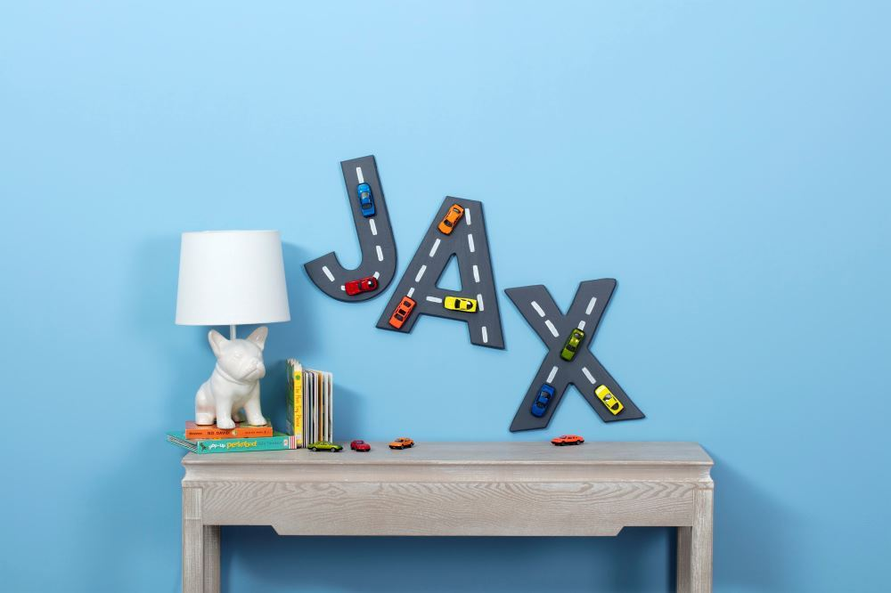 Picture of Easy DIY Name Sign for Kids