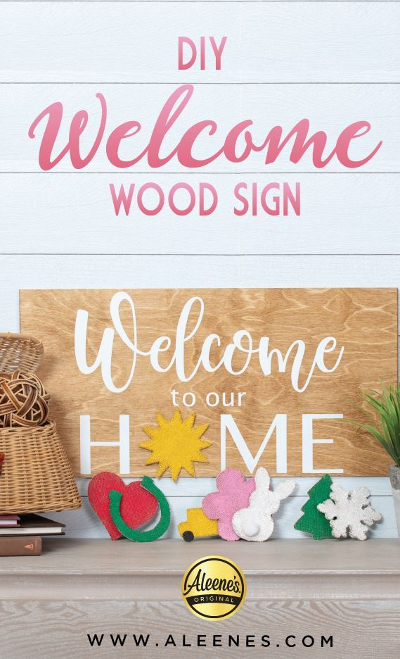 Picture of Aleene's Seasonal Welcome Sign