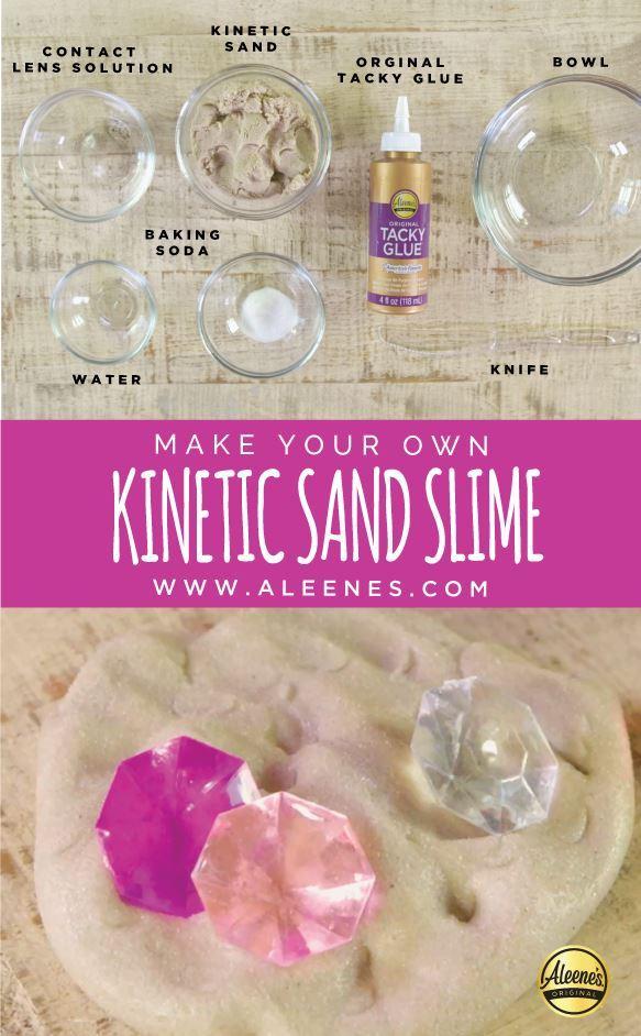 Aleene's Sand Slime Recipe