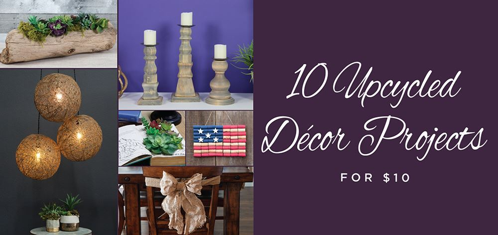 Picture of 10 Upcycled Decor Projects for $10 Each