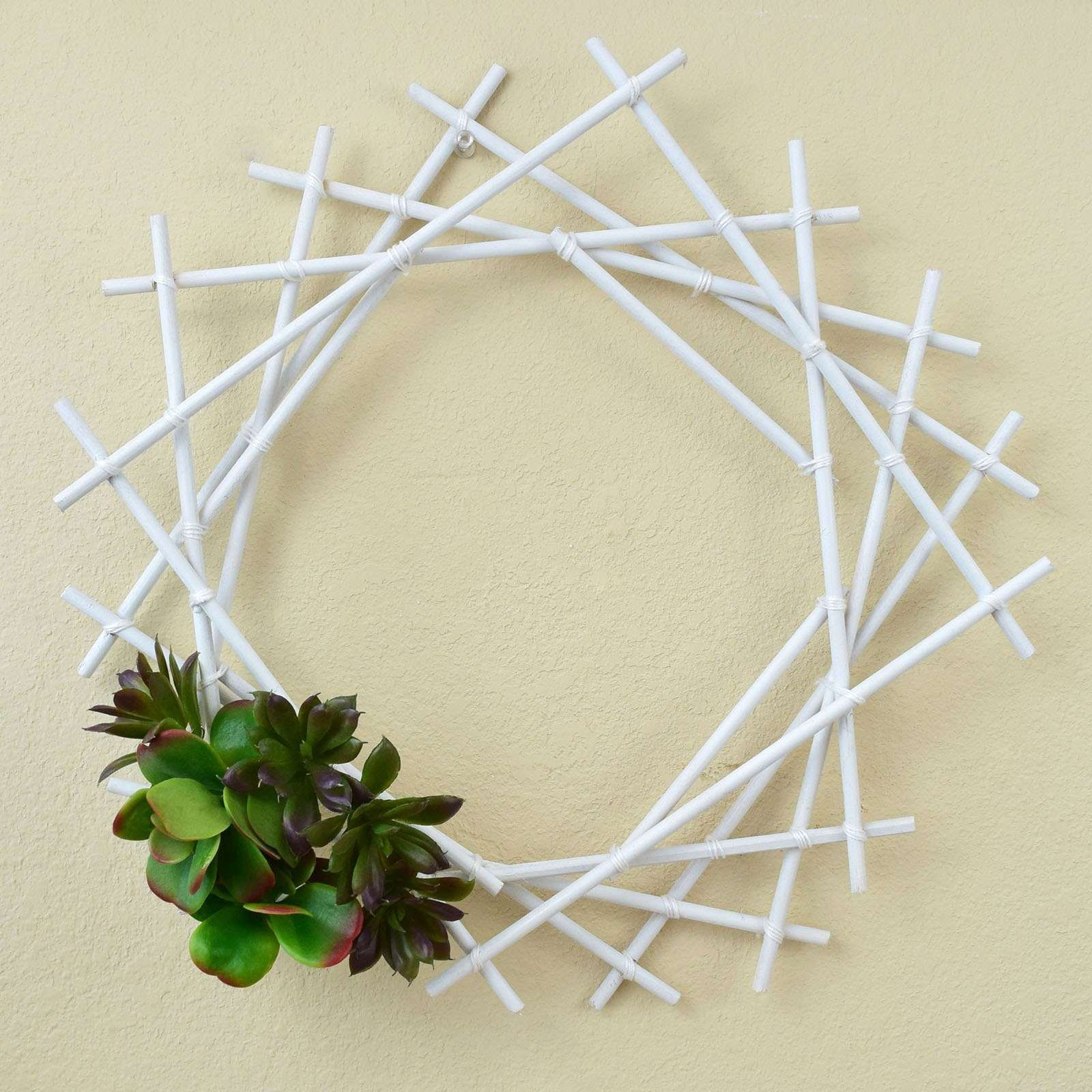 Aleene's Geometric Succulent Wreath