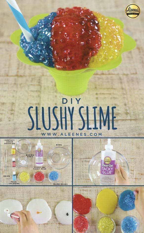 Aleene's Slushy Slime Recipe
