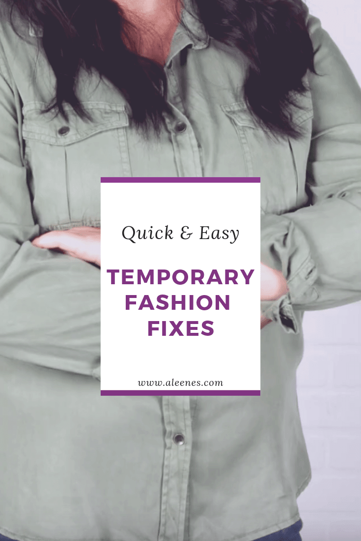 Picture of Easy Temporary Fashion Fixes