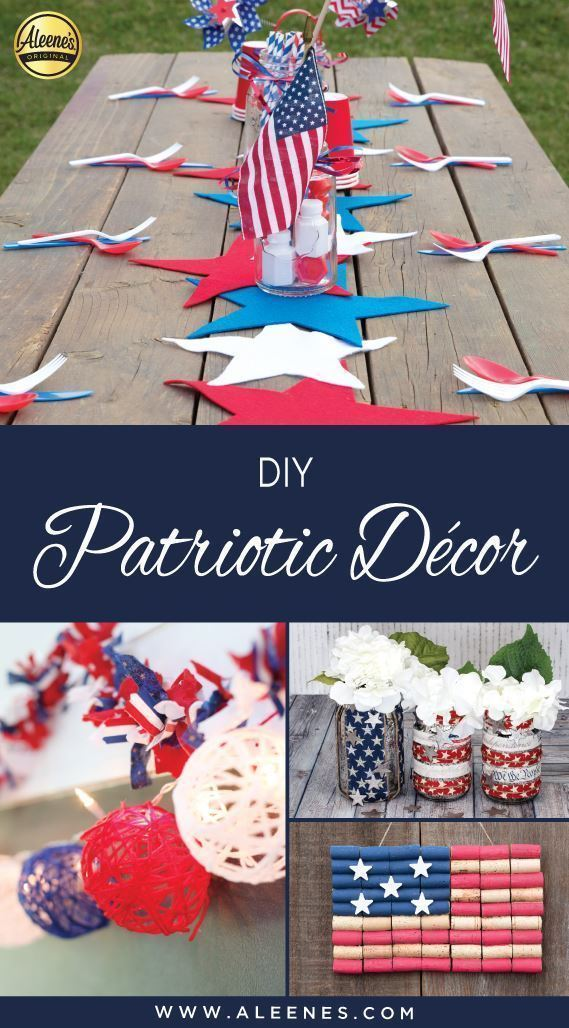 Aleene's DIY Patriotic Decor