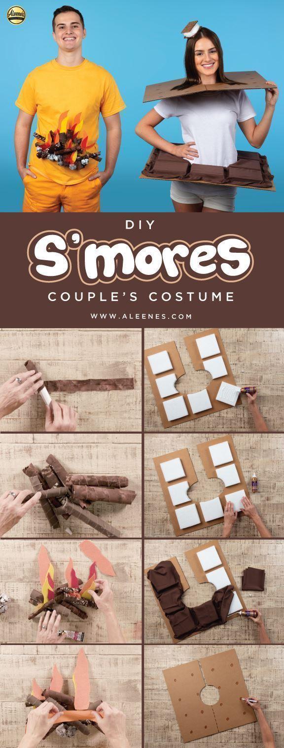 Aleene's S'mores Couple's Costume