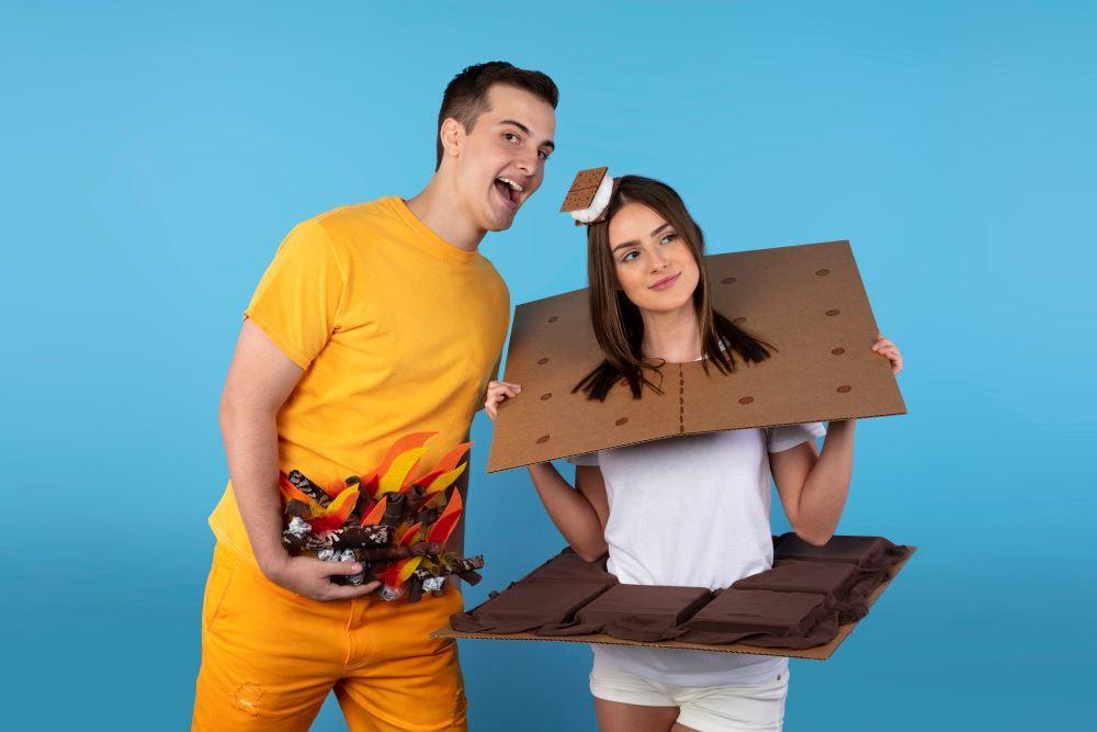 Aleene's S'mores Couple's Costumes