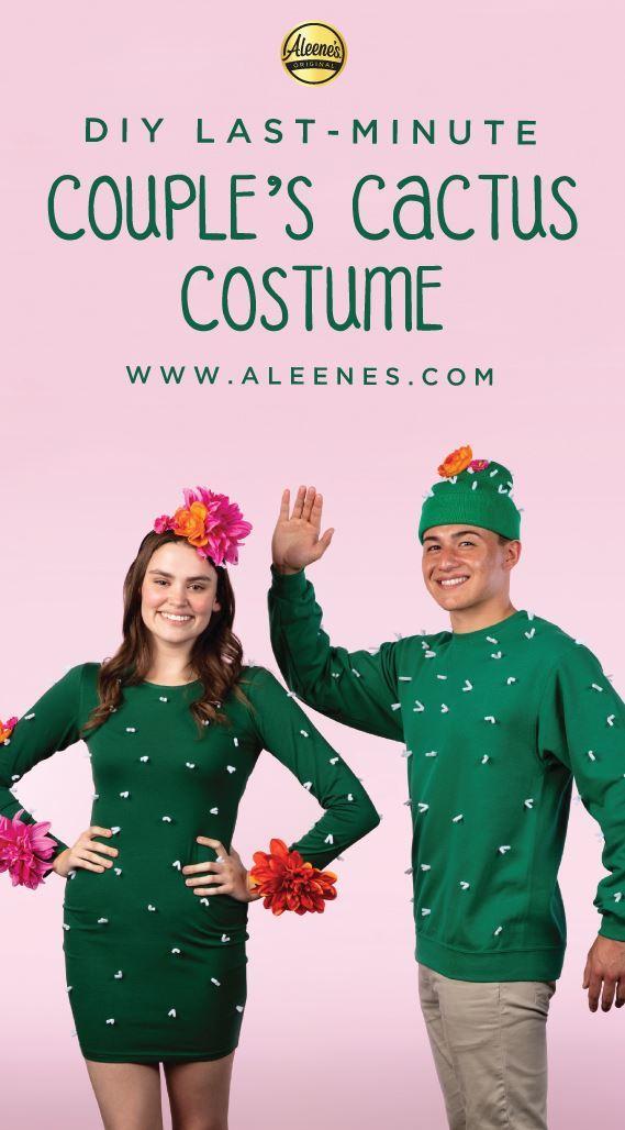 Picture of Aleene's Last-Minute Couple's Cactus Costume
