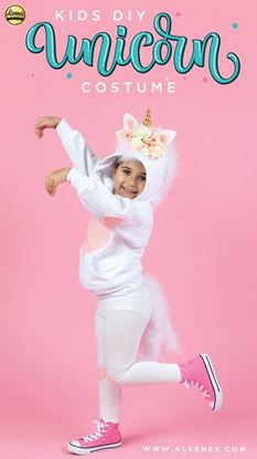 Picture of No-Sew Unicorn Costume for Kids