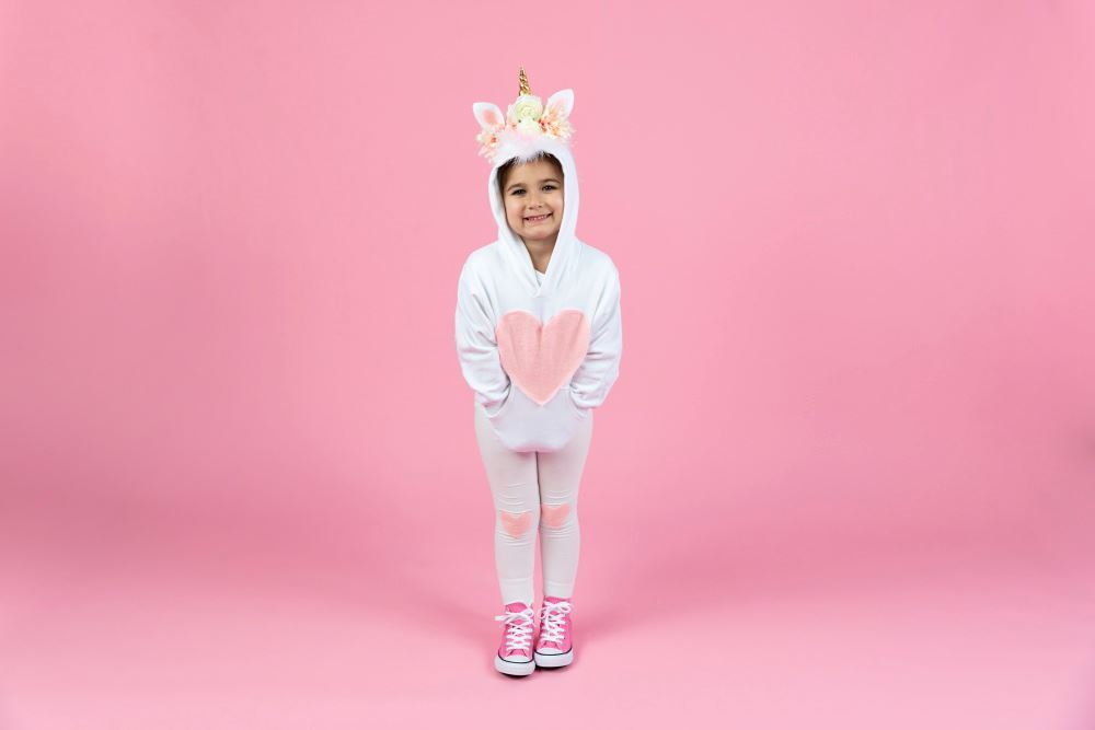 Picture of No-Sew Unicorn Costume for Kids