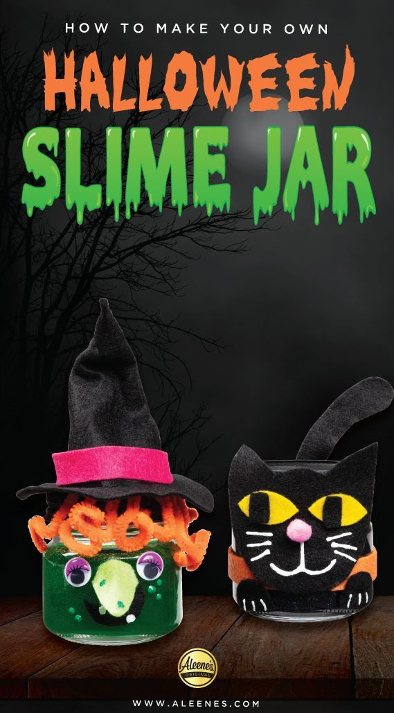 Picture of Aleene's Halloween Slime Jars