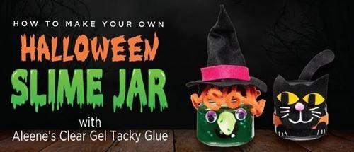 Aleene's Halloween Slime Jars