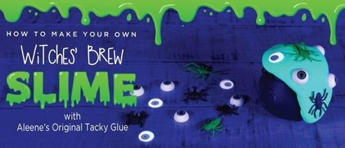 Aleene's Witches Brew Glow Slime
