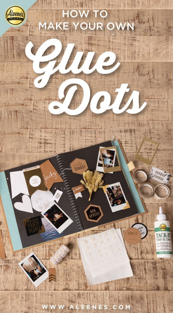 Picture of Aleene's How To Make Glue Dots