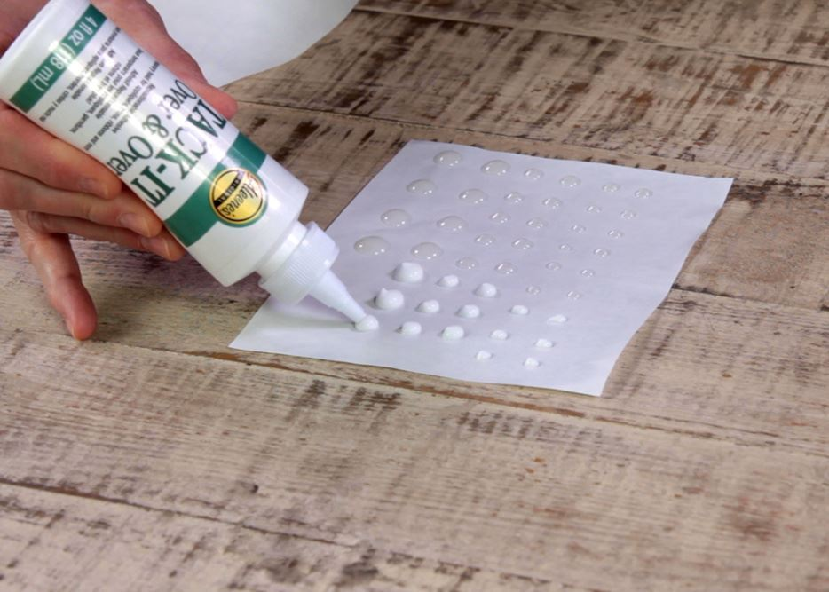 Aleene's How To Make Glue Dots