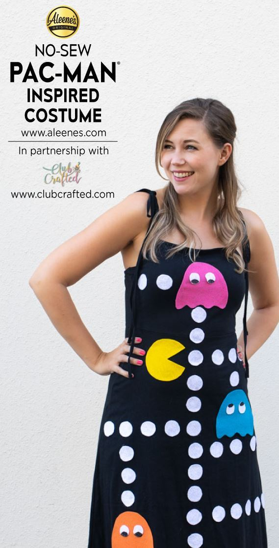 Picture of Aleene's No-Sew PAC-MAN Inspired Costume