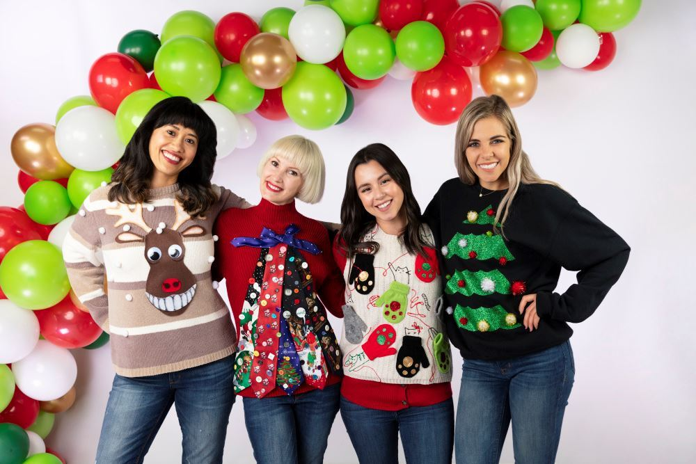 Picture of No-Sew Ugly Christmas Sweater DIYs
