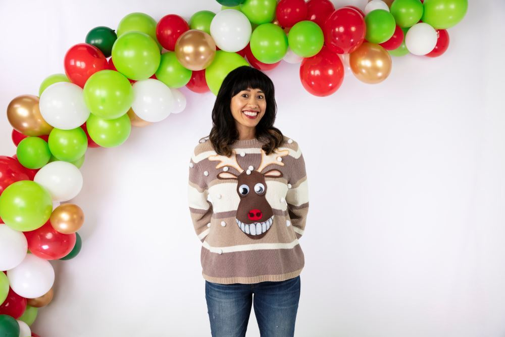 Aleene's No-Sew Reindeer Ugly Sweater