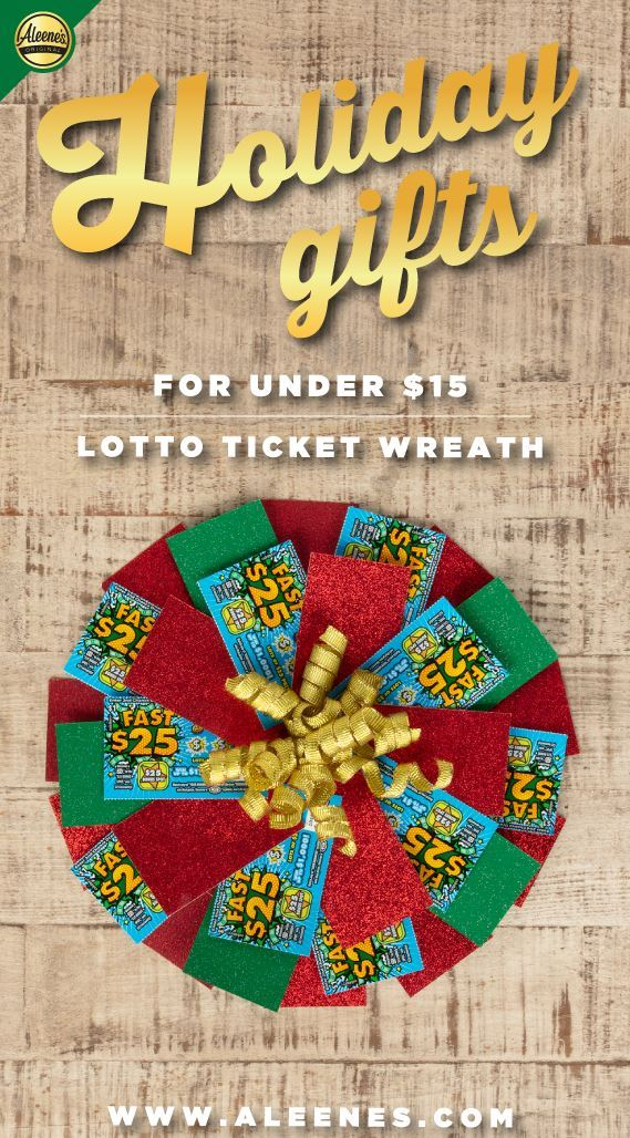 Picture of Aleene's Lotto Ticket Wreath