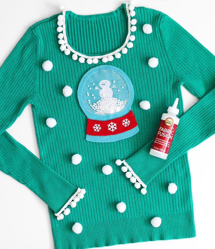 Picture of Snow Globe Ugly Christmas Sweater