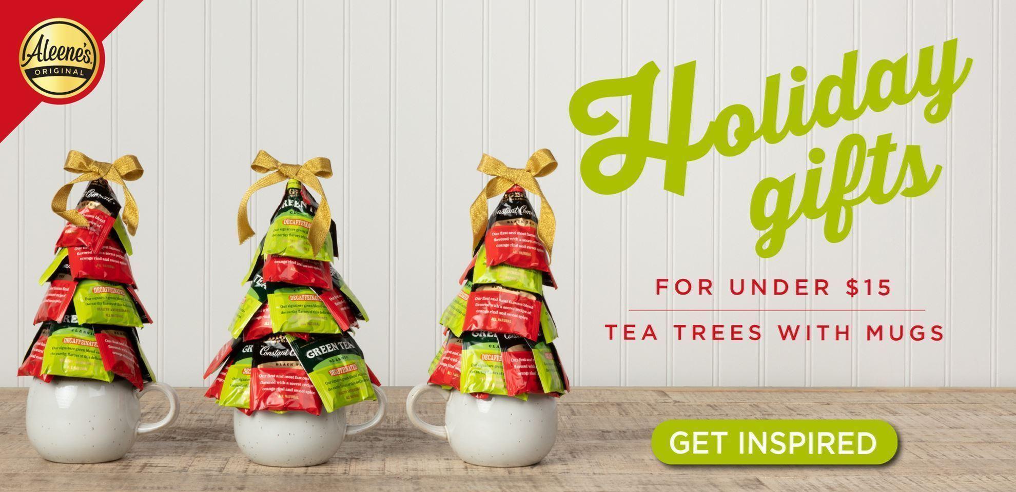Holiday Gifts Under $15 Tea Tree Mug