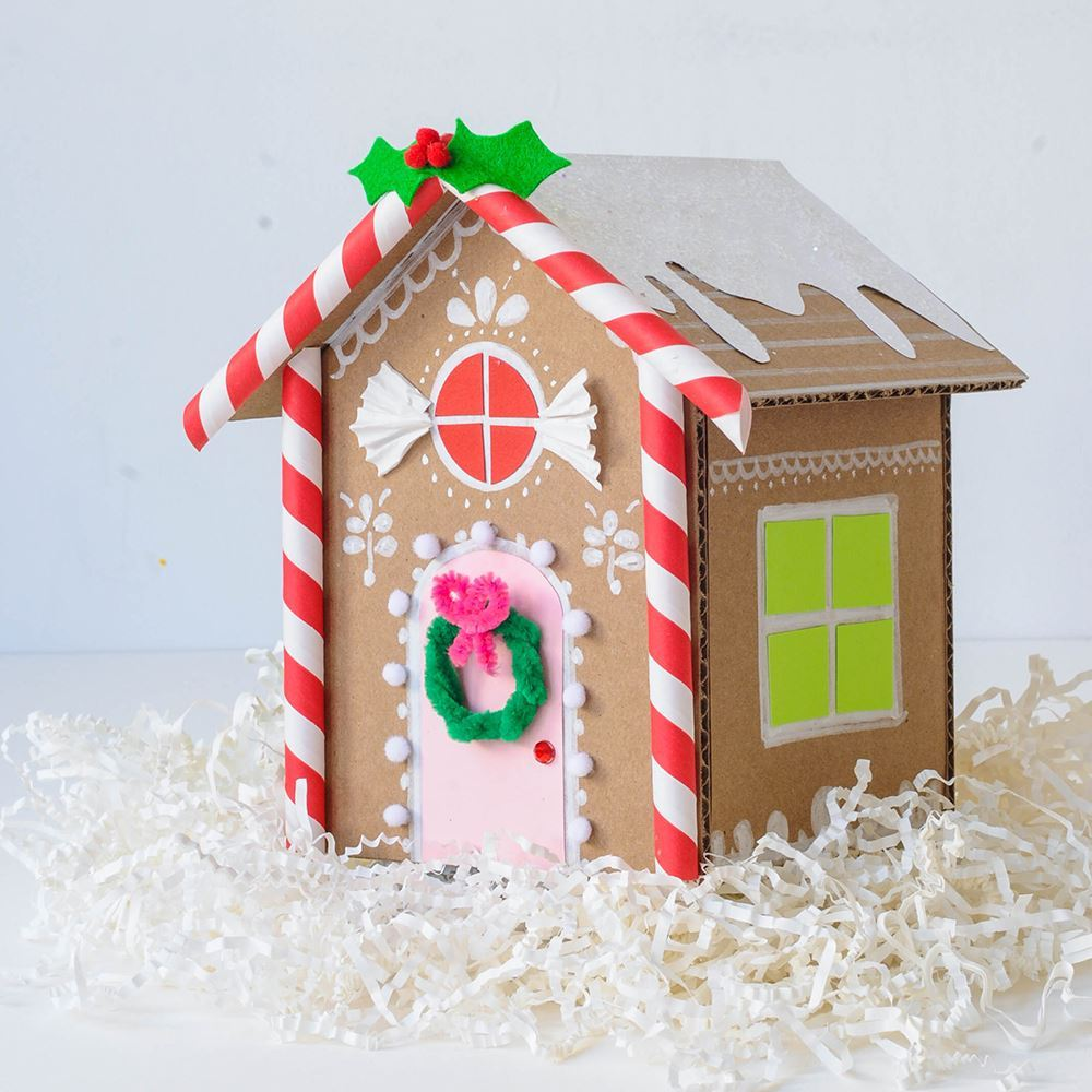 Aleene's Paper Gingerbread House