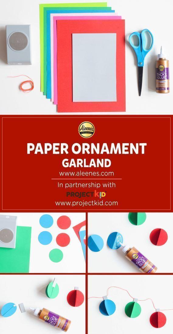 Aleene's Paper Ornament Garland