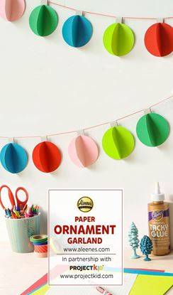 Picture of Paper Ornament Garland