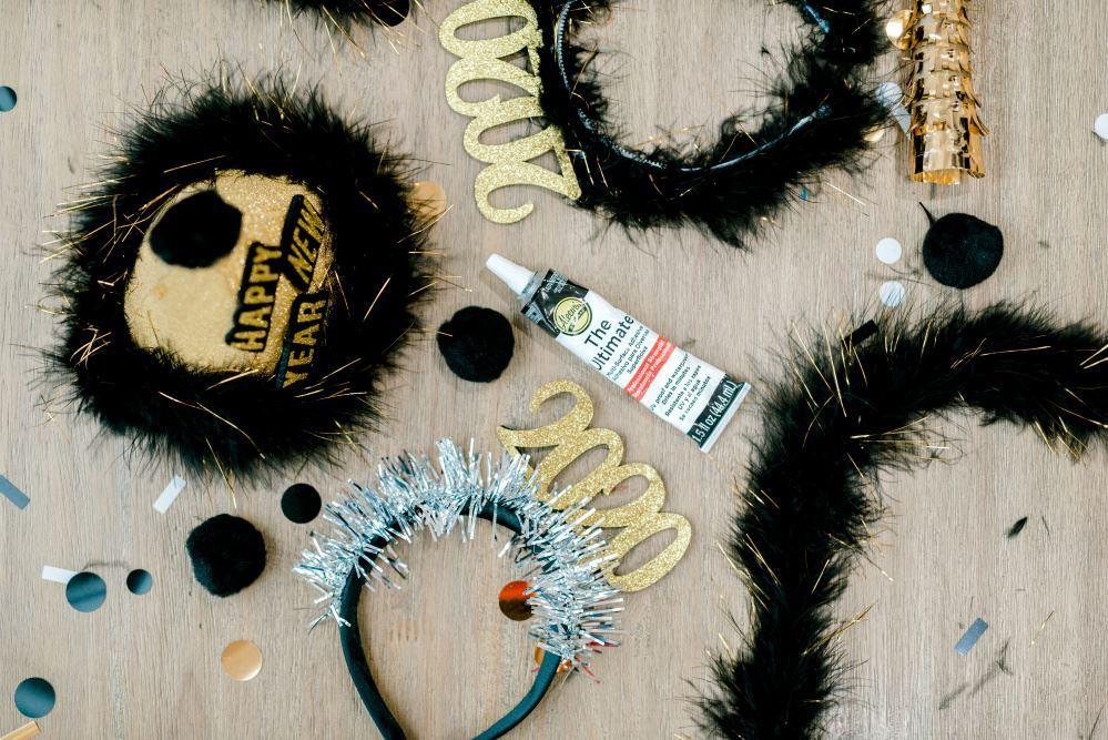 Aleene's DIY New Year's Headband
