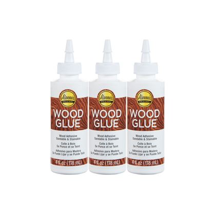 Picture of Aleene's 4 oz. Wood Glue 3 Pack