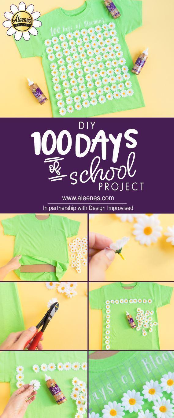 Aleene's 100 Days of School Project Idea