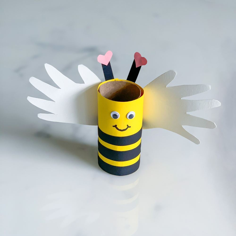 Picture of Bee Mine Paper Valentine's Day Craft
