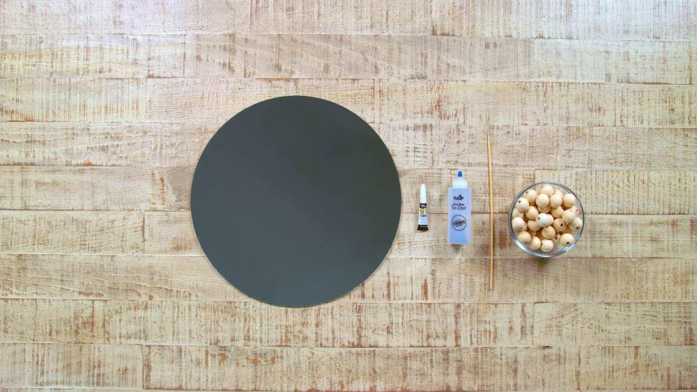 Aleene's Wood Craft Idea: DIY Beaded Mirror