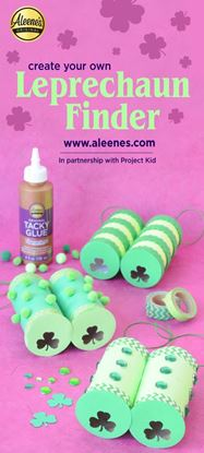 Picture of Easy Paper Craft: Leprechaun Finder